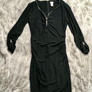 CACHE Black Bodycon Dress